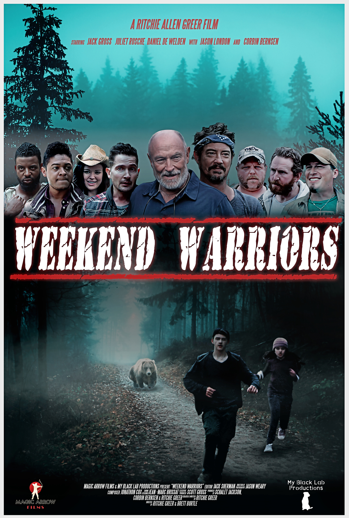 Weekend Warriors Poster Med