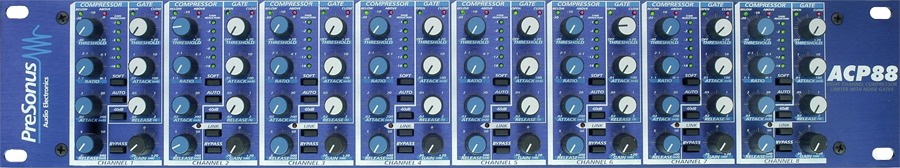 PreSonus ACP88 8 Channel CompressorGate