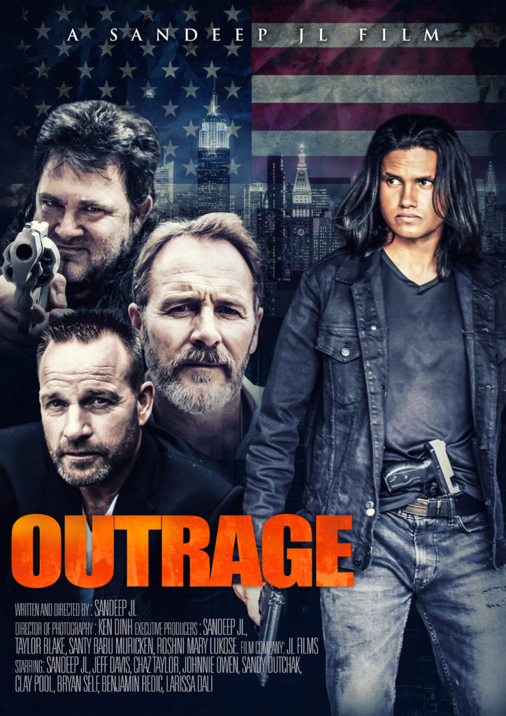 Outrage First Look Poster 724x1024